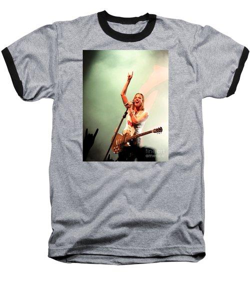 Halestorm Lzzy Hale Baseball T-Shirt
