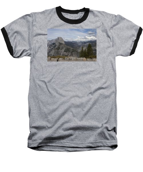 Half Dome Baseball T-Shirt by Ivete Basso Photography