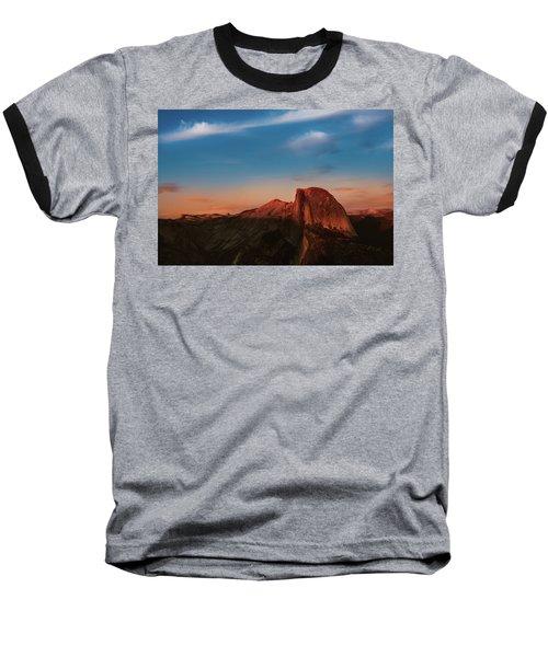 Half Dome  Baseball T-Shirt by Ralph Vazquez