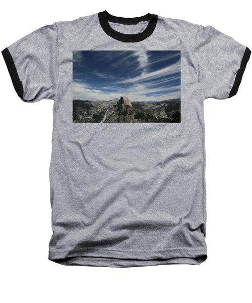 Half Dome Sky Baseball T-Shirt