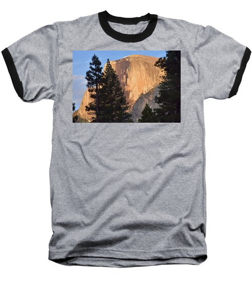 Half Dome Sunset Baseball T-Shirt