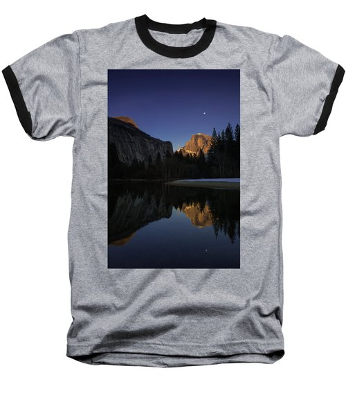 Half Dome, Twilight Baseball T-Shirt