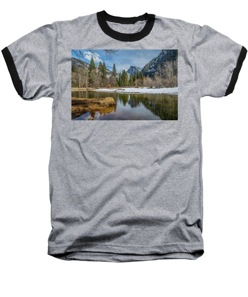 Half Dome Vista Baseball T-Shirt