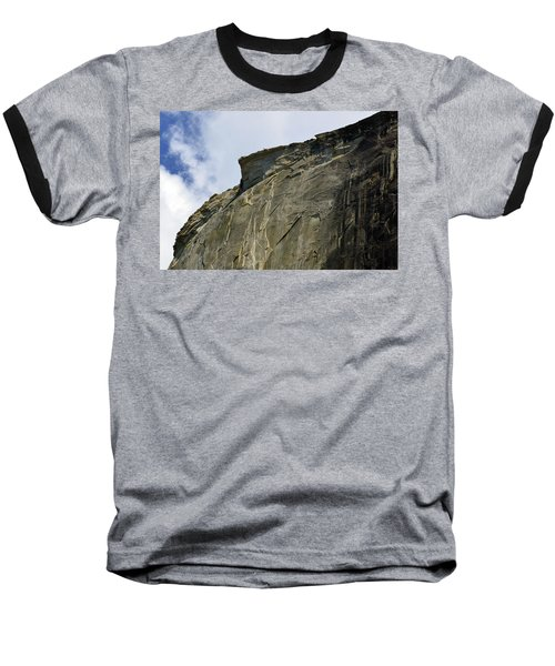 Half Dome With A View Of The Visor  Baseball T-Shirt