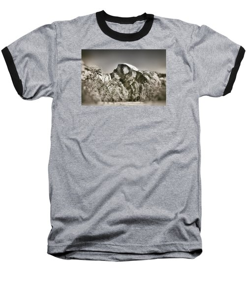 Half Dome Yosemite Baseball T-Shirt