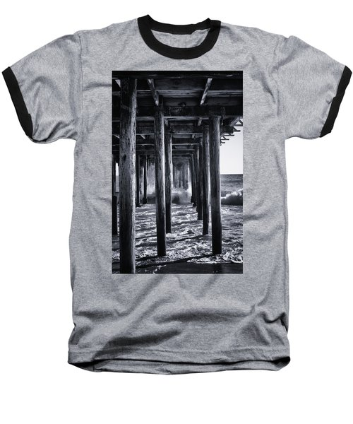 Hall Of Mirrors Baseball T-Shirt by Lora Lee Chapman