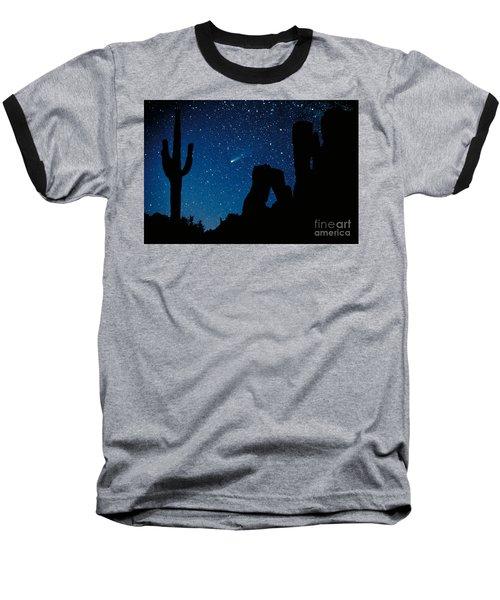 Halley's Comet Baseball T-Shirt