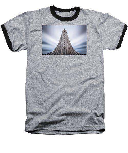 Hallgrimskirkja Cathedral Baseball T-Shirt