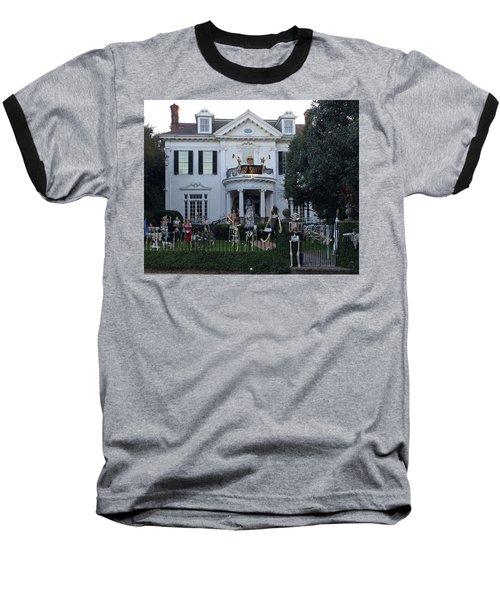 Halloween Decor New Orleans Style Baseball T-Shirt
