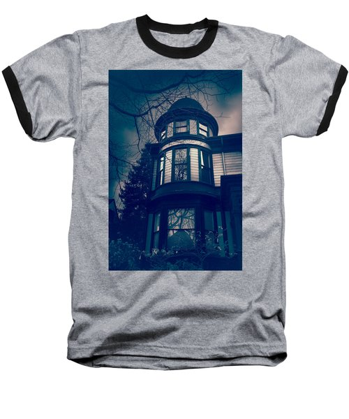 Halloween In The Park Baseball T-Shirt