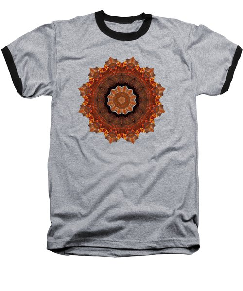 Halloween Kaleidoscope Sliver2-235 Baseball T-Shirt