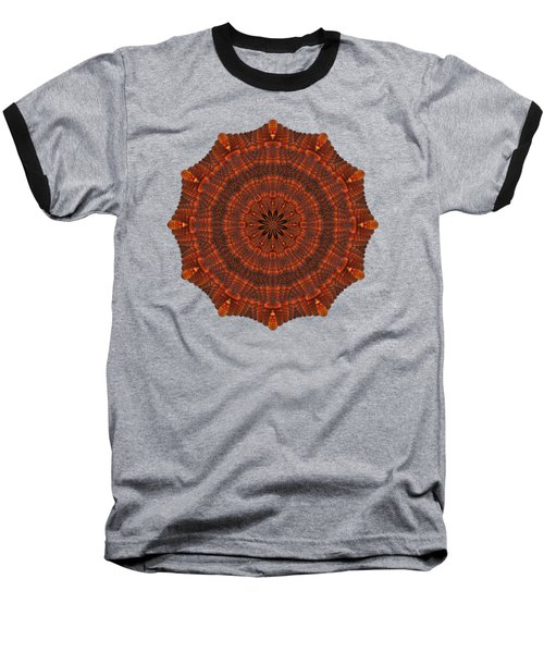 Halloween Kaleidoscope Sliver1-150 Baseball T-Shirt