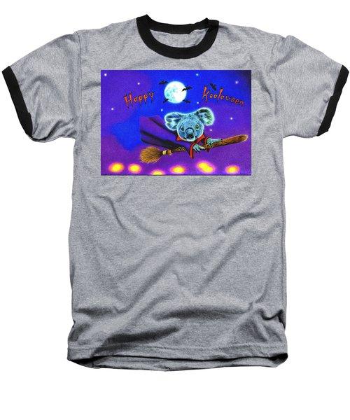 Halloween Koala, Happy Koalaween Baseball T-Shirt