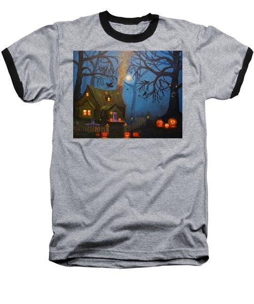 Halloween Night Baseball T-Shirt
