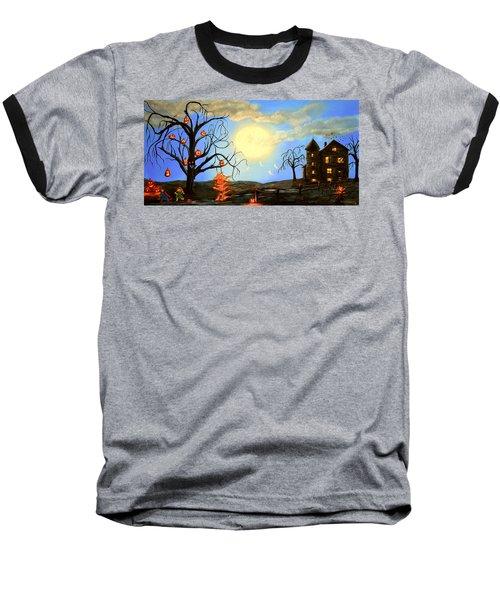 Halloween Night Two Baseball T-Shirt