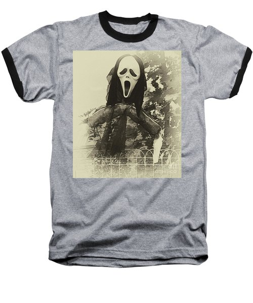 Halloween No 1 - The Scream  Baseball T-Shirt
