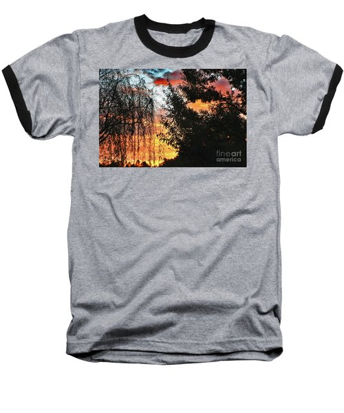 Halloween Sunrise 2015 Baseball T-Shirt