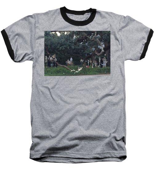 Halloween Yard Party Baseball T-Shirt