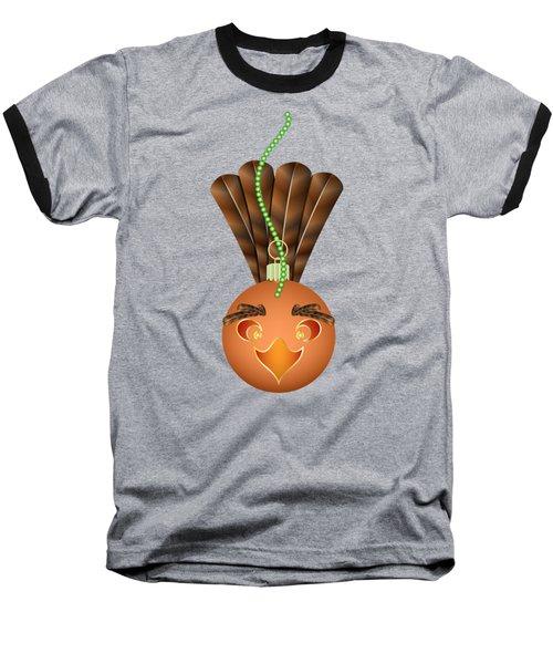 Hallowgivingmas Turkey Ornament Holiday Humor Baseball T-Shirt