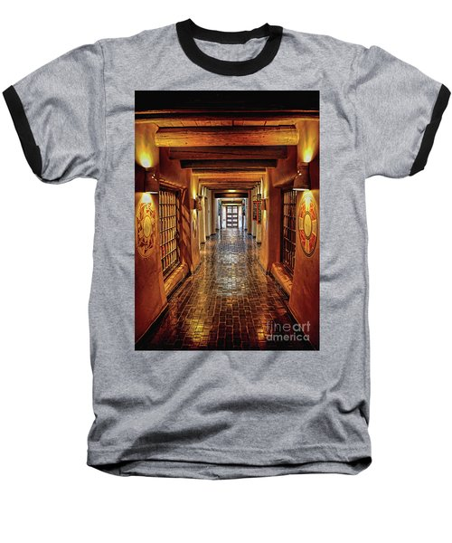 Baseball T-Shirt featuring the photograph Halls Of Loretto by Gina Savage