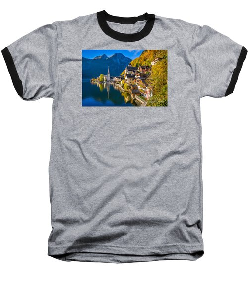 Hallstatt In Fall Baseball T-Shirt