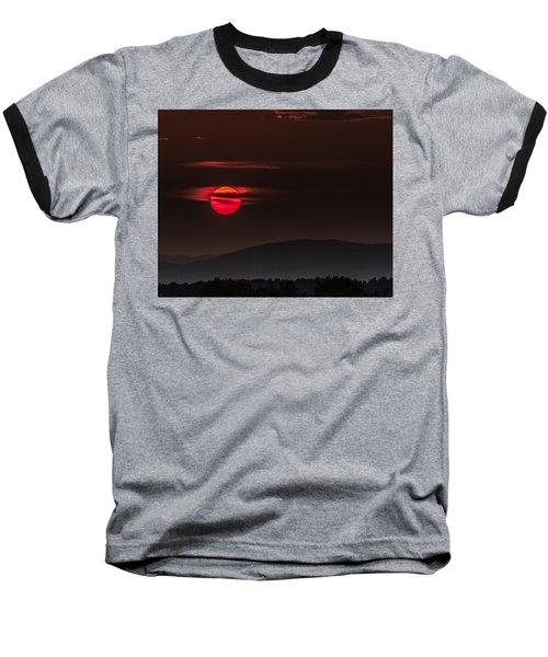 Haloed Sunset Baseball T-Shirt