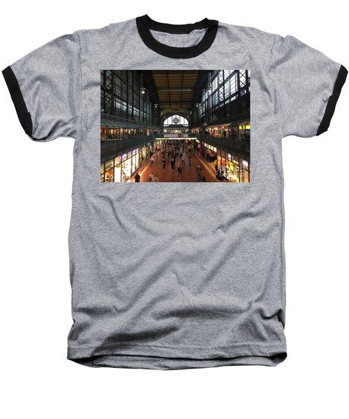 Hamburg Germany Trainstation Baseball T-Shirt
