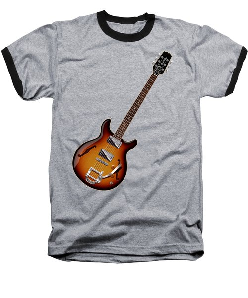 Baseball T-Shirt featuring the digital art Hamer Newport Shirt by WB Johnston