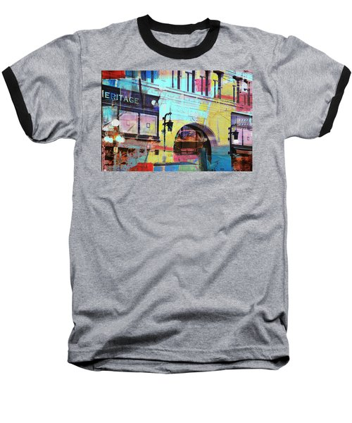 Baseball T-Shirt featuring the photograph Hamm Building St. Paul by Susan Stone