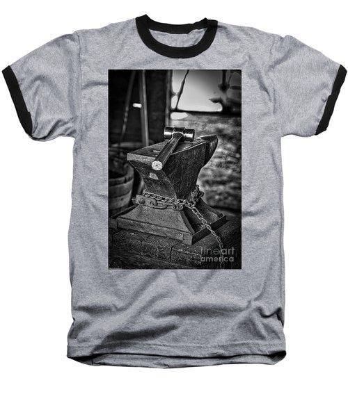 Hammer And Anvil Baseball T-Shirt