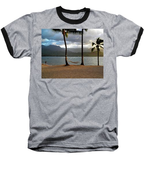 Hammock At Hanalei Bay Baseball T-Shirt