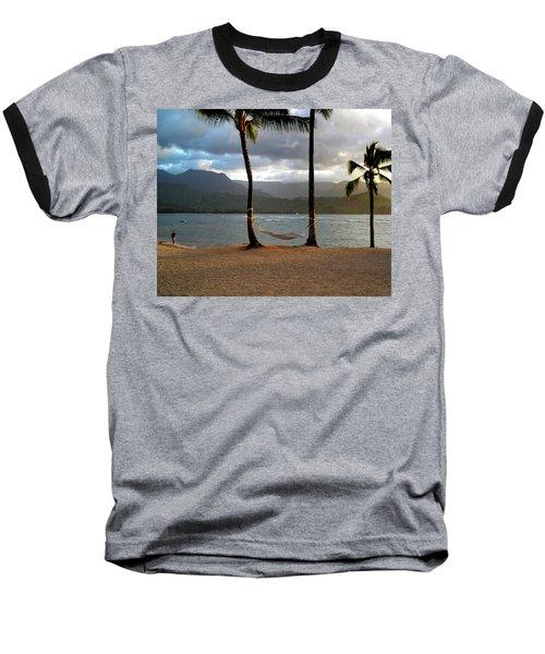 Hammock At Hanalei Bay Baseball T-Shirt
