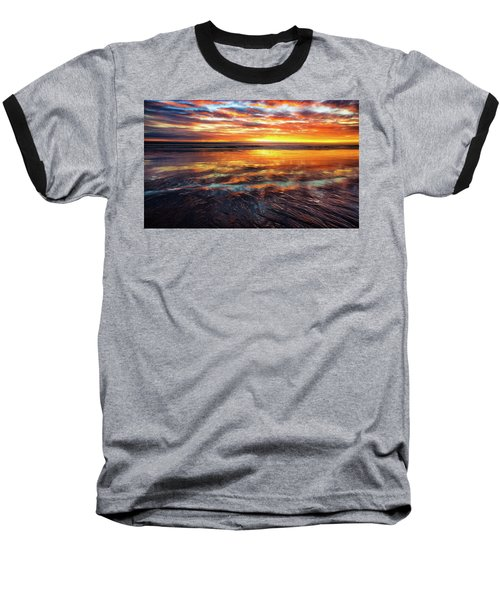 Baseball T-Shirt featuring the photograph Hampton Beach by Robert Clifford