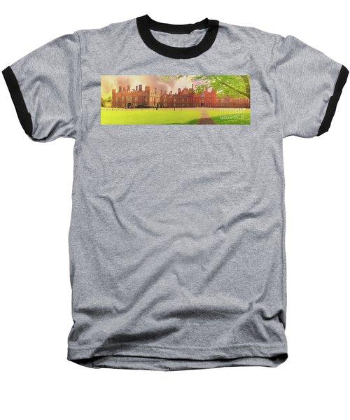 Hampton Court Palace Panorama Baseball T-Shirt