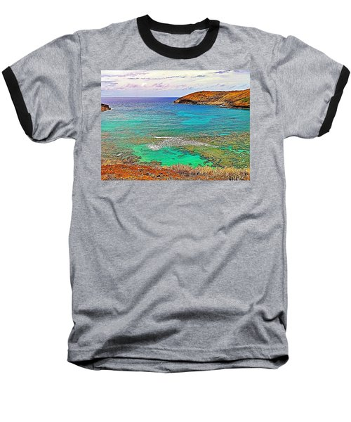 Hanauma Bay Baseball T-Shirt