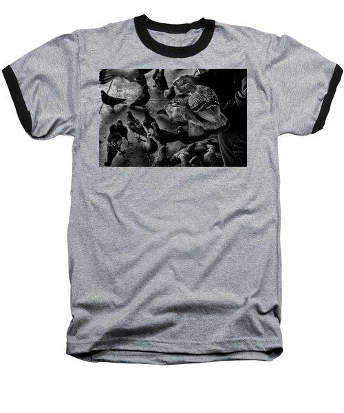 Hand Feeding Baseball T-Shirt