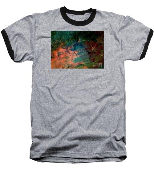 Hand Of A Healer - La Main Dun Guerisseur Baseball T-Shirt by Fania Simon