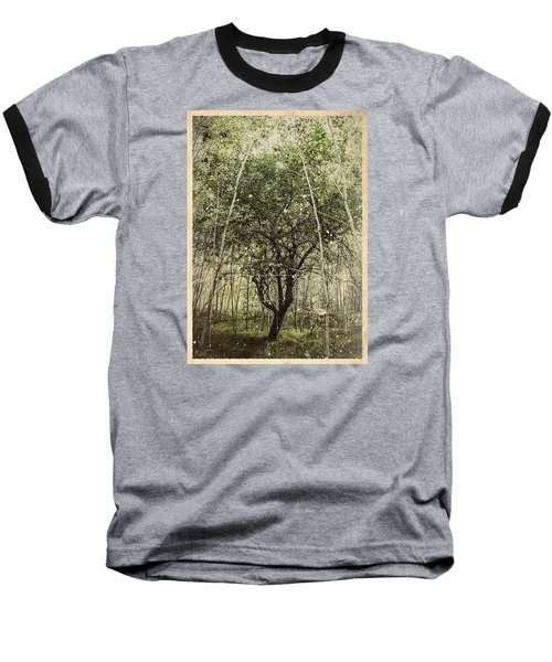 Hand Of God Apple Tree Poster Baseball T-Shirt