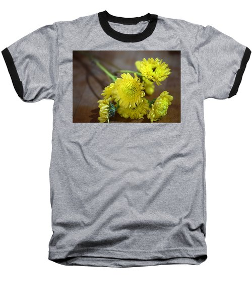 Baseball T-Shirt featuring the photograph Handful For You by Deborah  Crew-Johnson