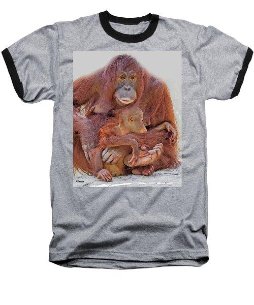 Hands And Feet Baseball T-Shirt