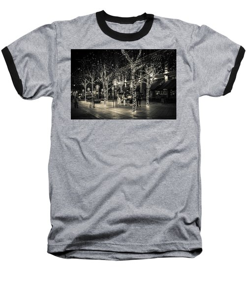Baseball T-Shirt featuring the photograph Handsome Cab In Monochrome by Kristal Kraft