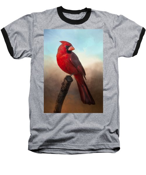 Handsome Cardinal Baseball T-Shirt