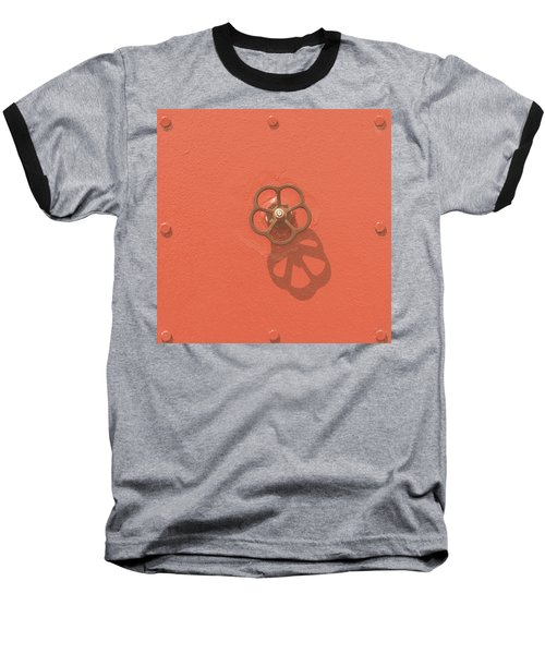 Handwheel - Orange Baseball T-Shirt