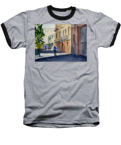 Hang Ah Alley Baseball T-Shirt by Tom Simmons
