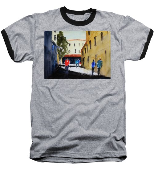 Hang Ah Alley2 Baseball T-Shirt by Tom Simmons