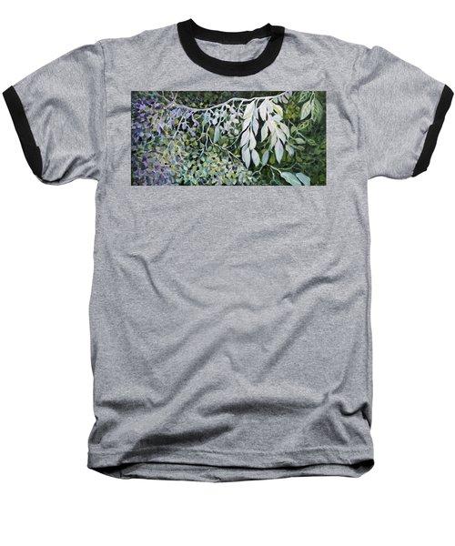 Silver Spendor Baseball T-Shirt by Joanne Smoley