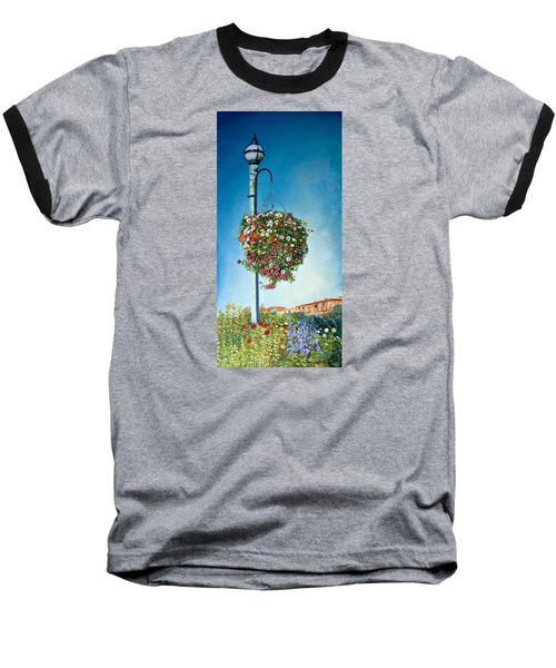 Hanging Basket Baseball T-Shirt