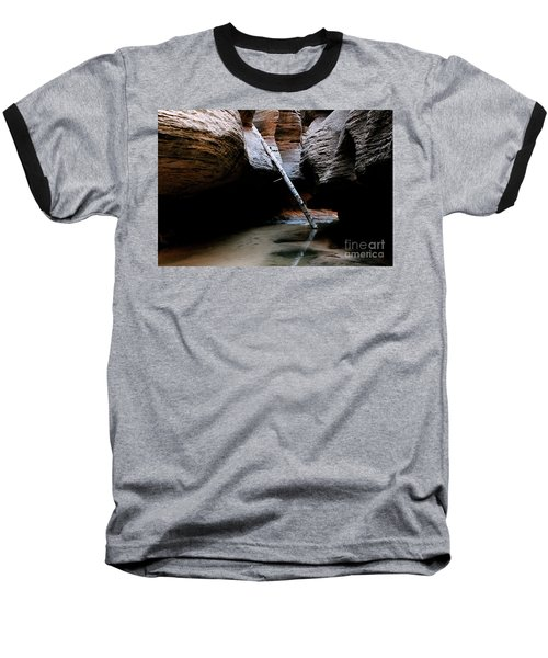 Hanging By A Moment Baseball T-Shirt