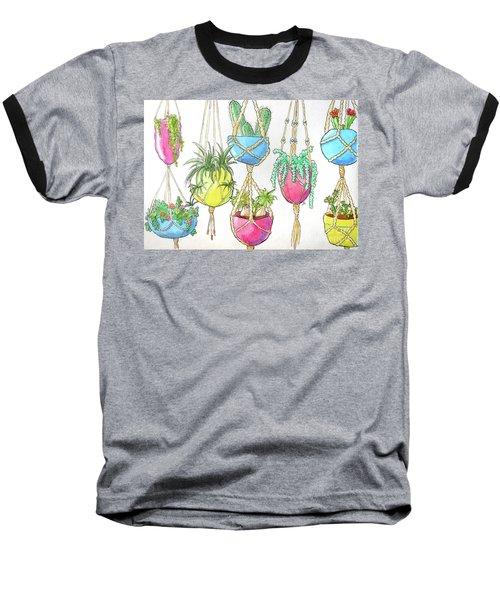 Hanging Garden Baseball T-Shirt