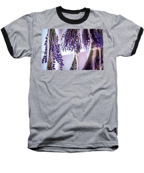 Hanging Lavender Baseball T-Shirt